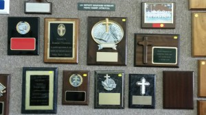 Plaques for preaches, deacons, and other church members $25-70